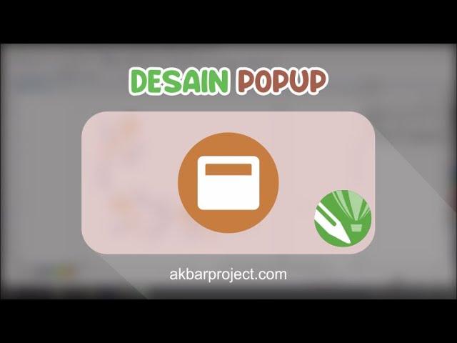 Tutorial Membuat Desain Pop Up (Papan Slide) Menggunakan Corel Draw