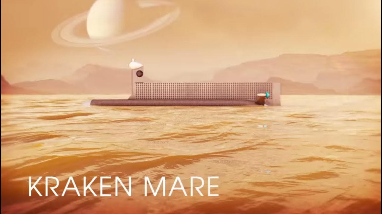 Submarines and drones will be able to explore the Titan