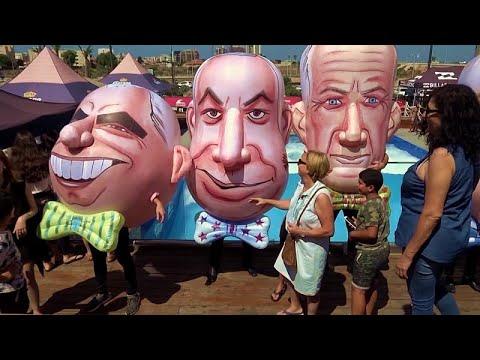 شاهد: إسرائيليون يمضون -يوم الانتخابات- على شاطئ البحر  - نشر قبل 3 ساعة