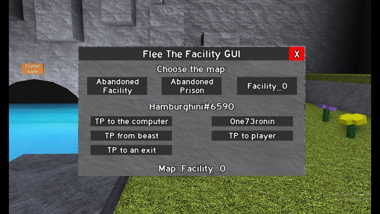 Flee The Facility Hack Script Computer Tp Exit Tp And More