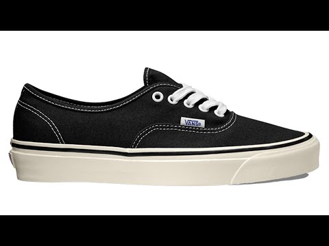 "Shoe Review: Vans ""Anaheim Factory"" Authentic 44 DX (Black)"