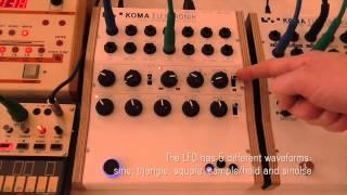 KOMA Elektronik RH301 as a master clock