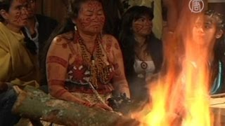 Индейцы Колумбии делают свои теленовости (новости)