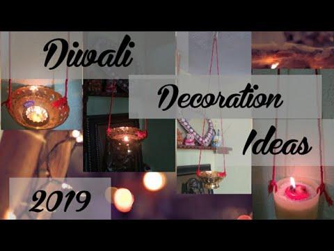 Latest Diwali decoration ideas part-2//in telugu 🎆🎇