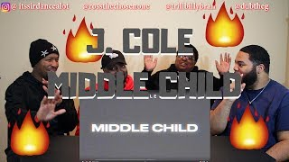 J. Cole - Middle Child (Official Audio) - REACTION!!