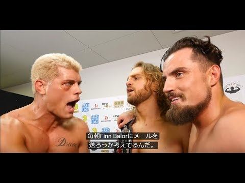 Jan 27 THE NEW BEGINNING in SAPPORO 2DAYS - 5th match : Post-match comments [English subs]