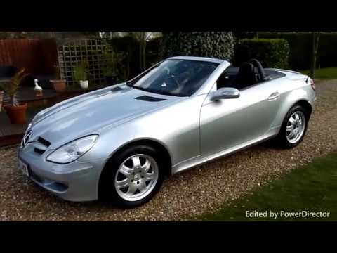 video review of 2004 mercedes slk 200k convertible for sale sdsc specialist cars cambridge uk. Black Bedroom Furniture Sets. Home Design Ideas