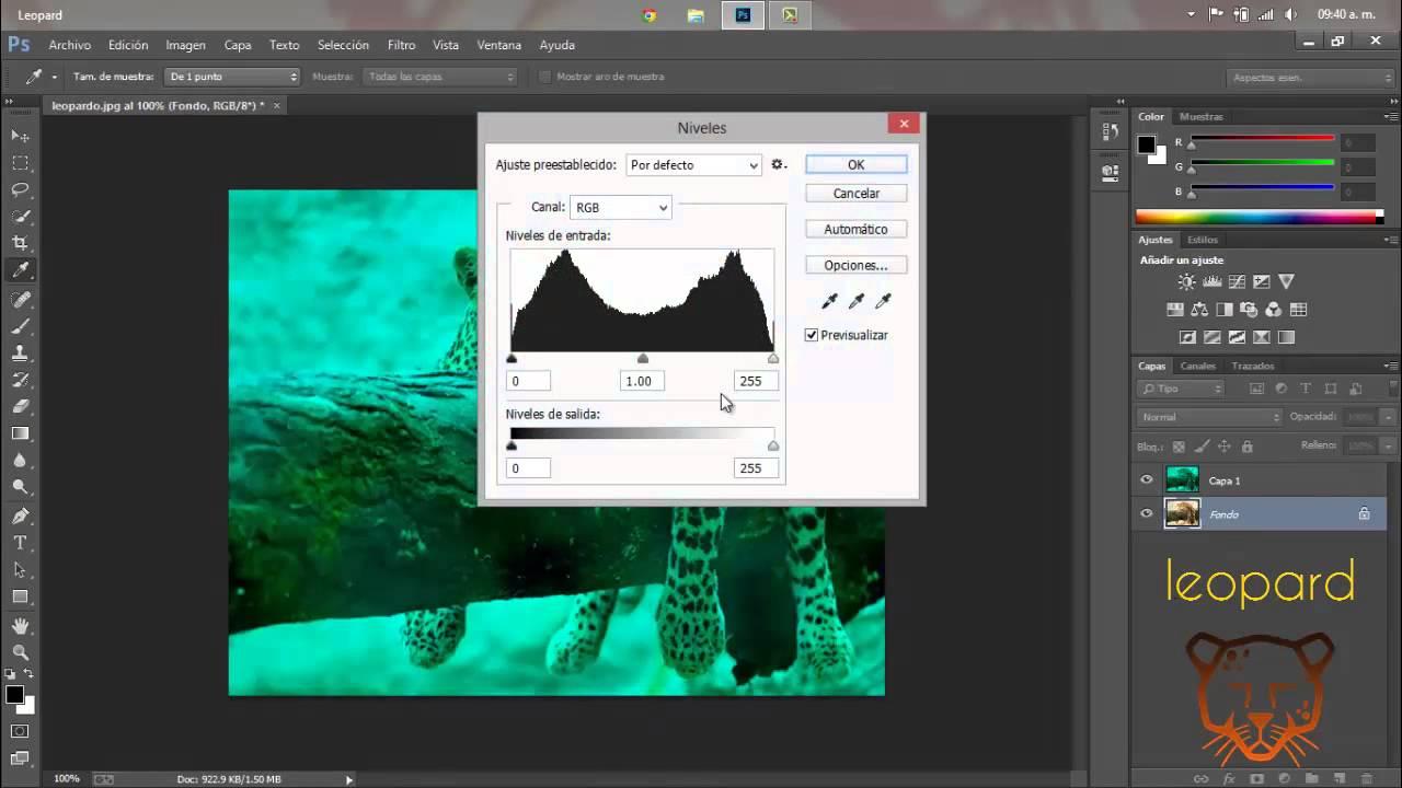 Imagen 3D - Photoshop CC