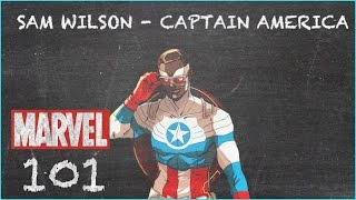 Wings and His Shield - Captain America Sam Wilson - MARVEL 101