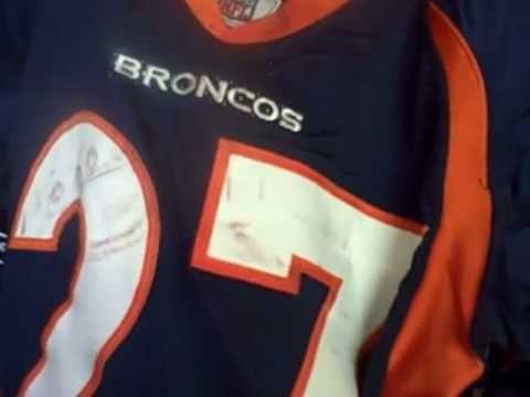 Denver Broncos Game Worn Jerseys 2010-2011