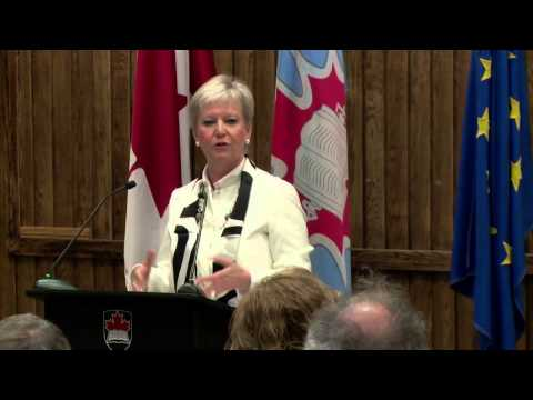 Ambassador Speaker Series: The European Union, Her Excellency Marie-Anne Cosinsx