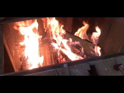 SawDust Wood Burner Shop stove