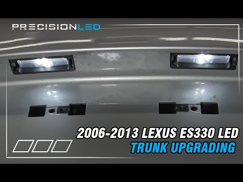 License Plate LED Installation