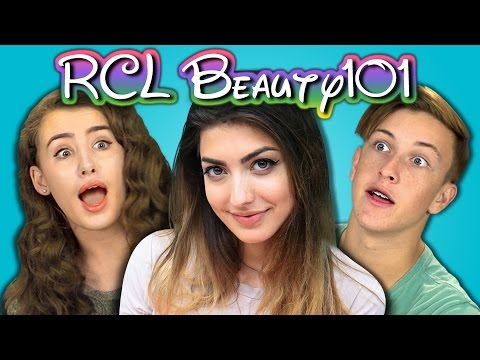 TEENS REACT TO RCLBEAUTY101 (Rachel Levin)