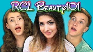 TEENS REACT TO RCLBEAUTY101 (Rachel Levin)