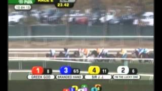 Sir J. J. - 2013 Belmont Maiden Claiming Race - Eighth Place Finish