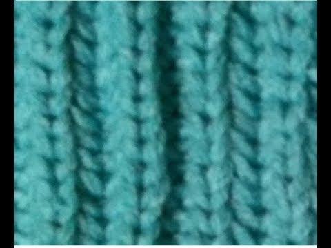 Half Fishermans Rib Fishermans Rib Stitch Flat Panel Loom