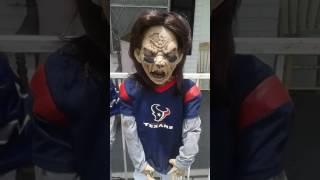 Zombie Texans/Cowboys Football Player Peeing Prop - Joe Sam's Fun Shop