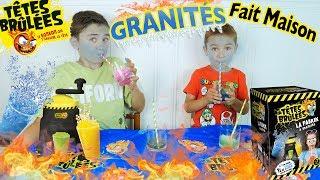 LA FABRIK À GRANITÉS TÊTES BRULÉES - On Fabrique Nos Granités Fait Maison !