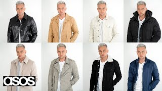 Men's ASOS Try-On Haul | 8 Affordable Autumn/Winter Jackets 2019
