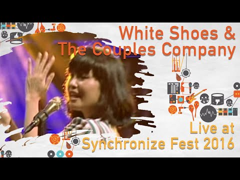 White Shoes and The Couples Company live at SynchronizeFest - 29 Oktober 2016