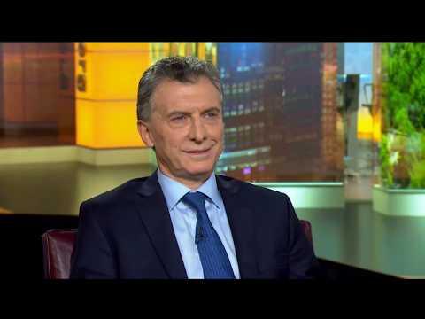 Reportaje al presidente Macri de la Agencia Bloomberg