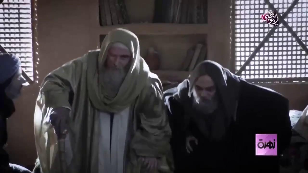 لقاء مع مصطفى الخاني و نسرين طافش  و تقرير قناة أبو ظبي عن مسلسل مقامات العشق