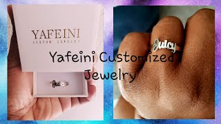 Jewelry Review Ft. Yafeini Custom Jewelry 💍💍
