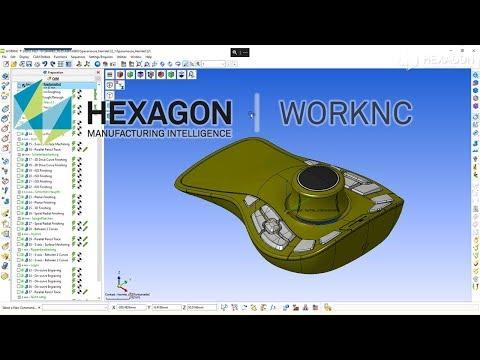 CAD/CAM interface | WORKNC | NCSIMUL Machine