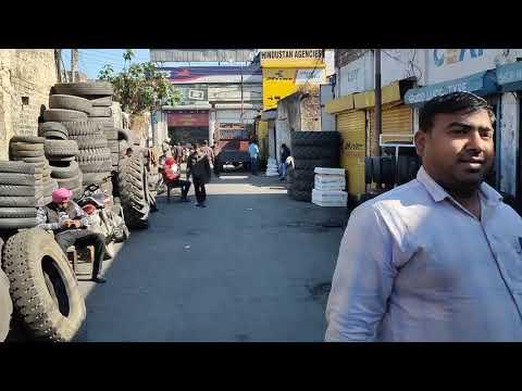 Tyre Market Ludhiana ਲੁਧਿਆਣੇ ਦਾ ਟਾਇਰ ਬਜ਼ਾਰ