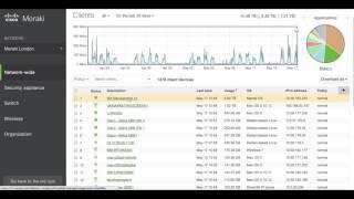 Cisco Meraki – how to use the dashboard