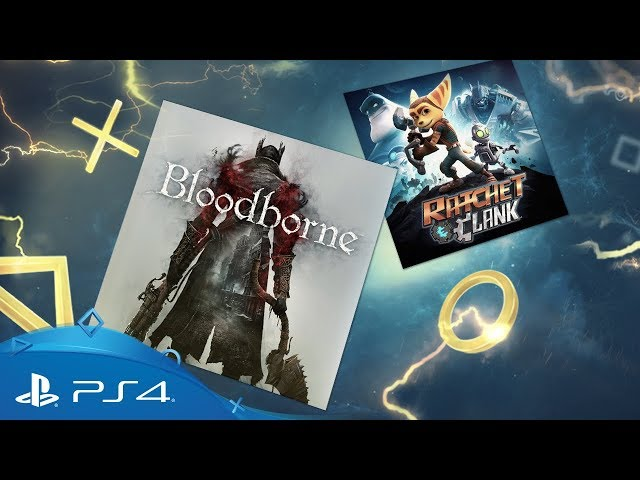Your Playstation Plus Games For March Are Bloodborne And Ratchet