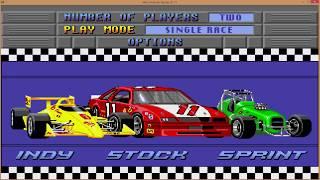 Mario Andretti Racing. Этап 3. Palka Palych (практика) vs JAMLIGHT (Space Team)