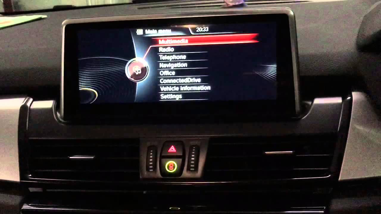 bmw f45 active tourer navigation plus retrofitted youtube. Black Bedroom Furniture Sets. Home Design Ideas
