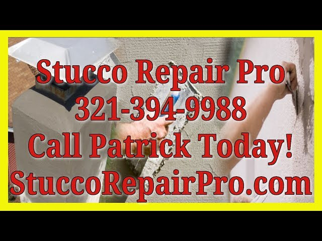 Stucco Repair Of Buckling Stucco - Cracks in Mims FL - 321-368-6802