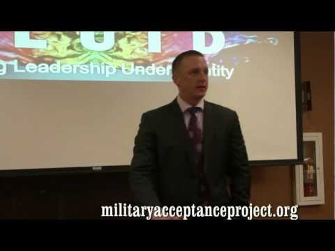 Military Acceptance Project (MAP) TELLS Post DADT Repeal from YouTube · Duration:  37 minutes 39 seconds