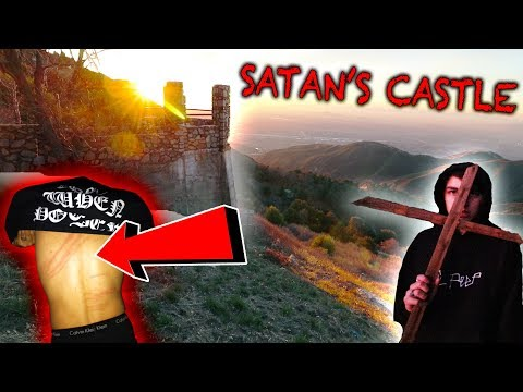 DEMONIC RITUAL AT HAUNTED SATANS CASTLE  Gone Wrong