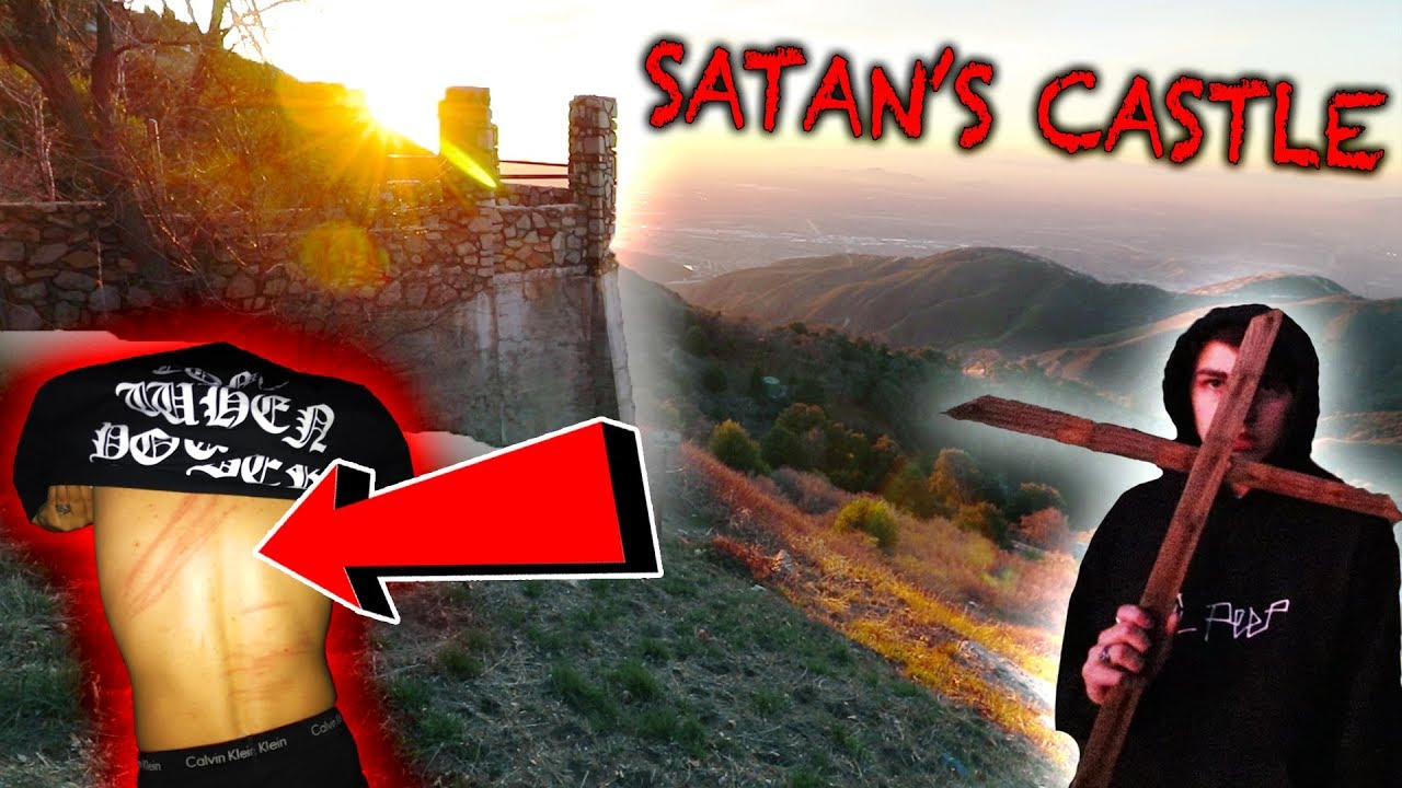 DEMONIC RITUAL AT HAUNTED SATAN'S CASTLE | (Gone Wrong)