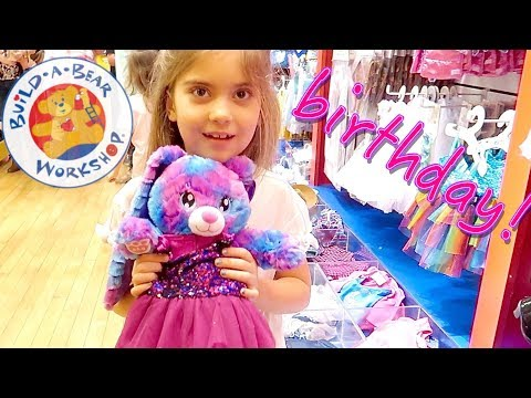 AWESOME BUILD-A-BEAR BIRTHDAY PARTY!!