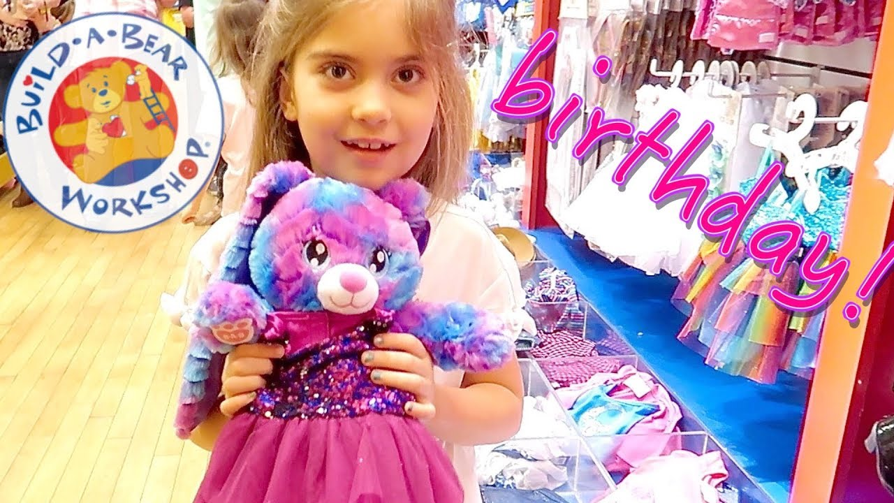 c1eff6515c6 AWESOME BUILD-A-BEAR BIRTHDAY PARTY!! - YouTube