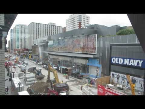 Downtown Ottawa Byward Market Rideau Centre Sinkhole 2016