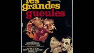 """映画「男たちの掟」BGM集 """"Les Grandes Gueules"""""""