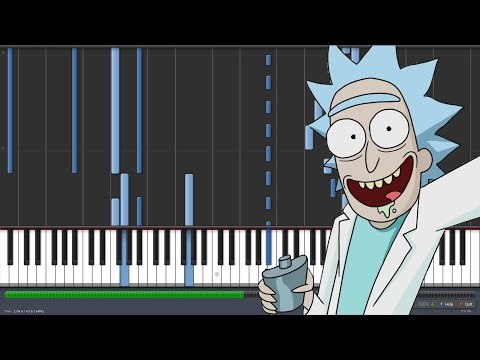 Do You Feel It? - Chaos Chaos - Rick and Morty Ending [Piano Tutorial] (Synthesia)