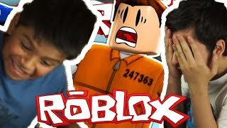 WORST THIEVES ROBLOX WITH MY COUSIN! -ROBLOX JAILBREAK