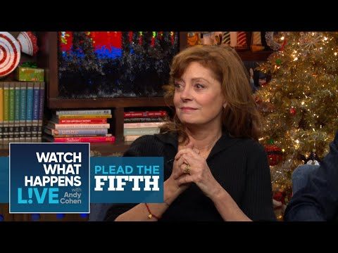 Susan Sarandon On The Hollywood Events She Showed Up To Stoned | Plead The Fifth | WWHL