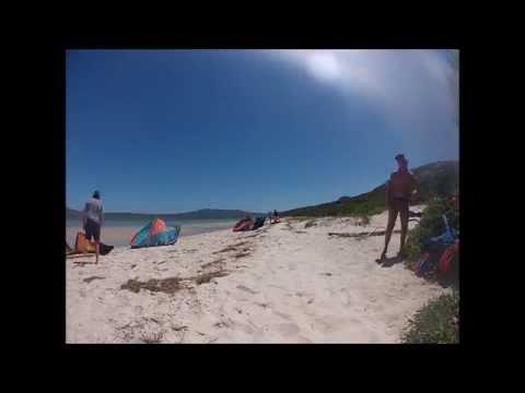 Kiteboarding Shark Bay Langebaan