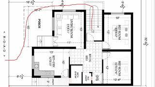 32x49 feet HOUSE PLAN