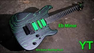80s Guitar Backing Track Eb Minor