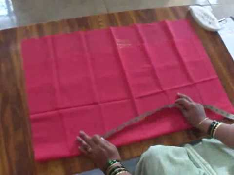 Blouse Cutting In Kannada Part 1