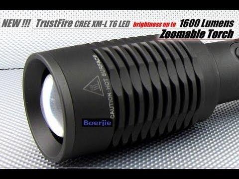 Trustfire xml 1600 torch light